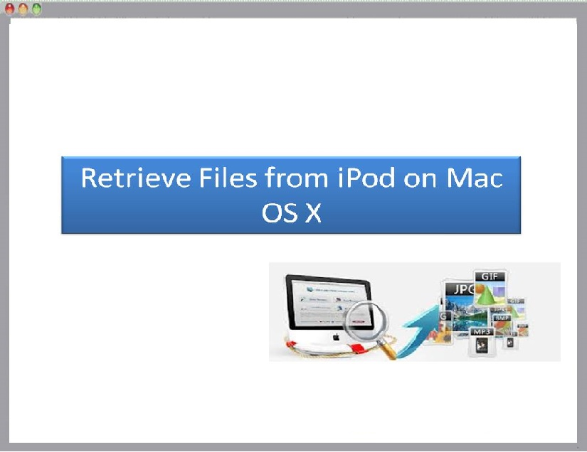 Tool to iPod recovery on Mac