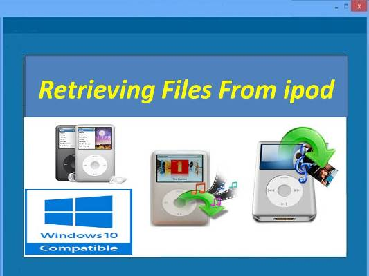 Recover My iPod files on Windows