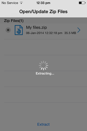 How to Open Zip Files in iPad - Extraction Process